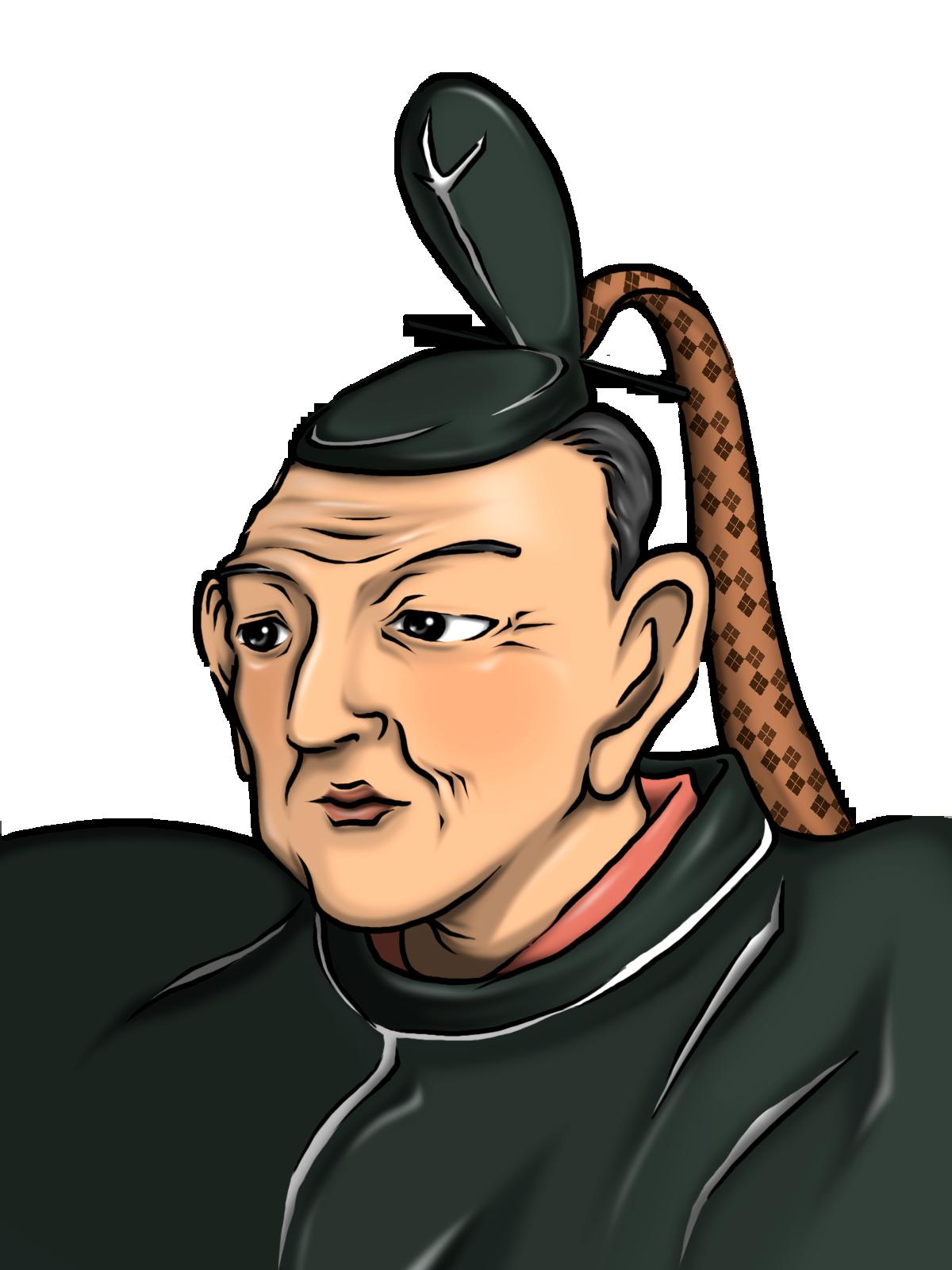 徳川幕府8代目吉宗のイラスト